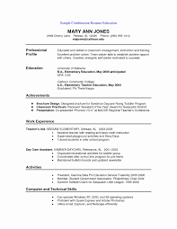 Free Printable Resume Format Unique Resume Template Blank Templates