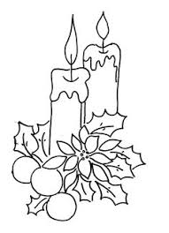 Small Picture Christmas Candles Coloring Pages Coloring For Adults Pinterest