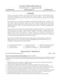 Fashion Marketing Resume Resume For Study