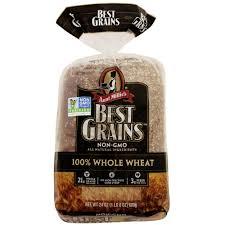 Aunt Millie S Light Whole Grain Bread Nutrition Aunt Millies Best Grains Non Gmo Bread 100 Whole Wheat