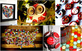 Beer Box Decorations 100 Fun Ways Of Reusing Bottle Caps In Creative Projects 85