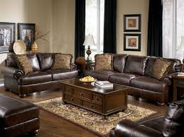 Magnificent Dark Brown Leather Sofa with Prestige Traditional