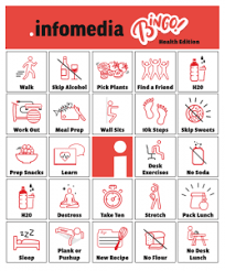 Office Bingo Looking For An Office Health Challenge Try Our Bingo Game