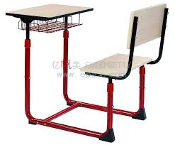 school desk and chair in classroom. Simple Classroom China Single Fixed Student School Desk And Chair For Classroom   Furniture Chairs To And In E