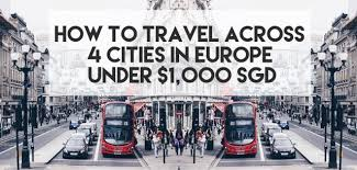 We have her phone number and we will give it to you for free! How To Travel Across 4 Cities In Europe Under 1 000 Sgd