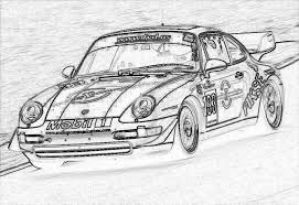 Searching Out Porsche Pic For Childrens Coloring Competition