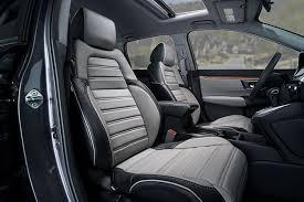 katzkin honda crv black grey leather seats