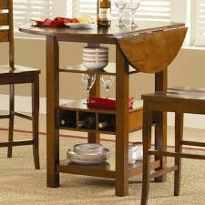 Kitchen Table For Small Spaces Drop Leaf Kitchen Table And Chairs Image Of Round Drop Leaf
