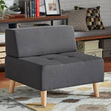 Soto Modern Upholstered Modular Ottoman Chair iNSPIRE Q Modern - Free  Shipping Today - Overstock.com - 18592770