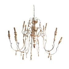 french chandelier 18th century style wood and iron french chandelier for xkcialw
