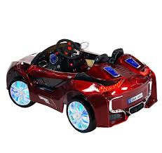 Led Light Toy Car Bmw I8 Style Premium Ride On Electric Toy Car For Kids 12v Battery Powered Led Lights Mp3 Rc Parental Remote Controller Suitable For Boys