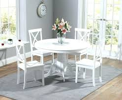 round dining room tables for 4 kitchen table with 4 chairs painted white round dining table