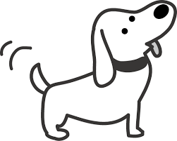 犬のイラスト 無料イラストフリー素材