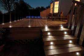 Inspiration Exterior Deck Lighting Ideas  Led Lights On Deck Solar Deck  Lights
