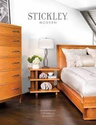 modern catalog stickley