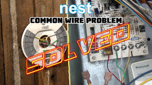 nest thermostat no common wire problem solved how to install nest missing common c wire you
