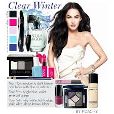 image result for makeup for clear winters