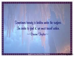 Hidden Beauty Quotes