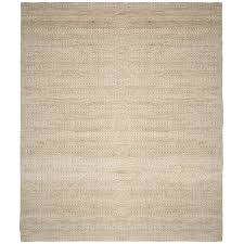 safavieh natural fiber 11 x 15 hand woven jute rug in ivory nf212d 1115