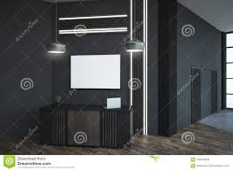 blank frame on concrete wall