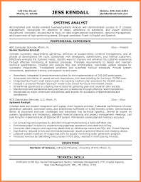 business systems analyst resume 5 business systems analyst resume statement synonym