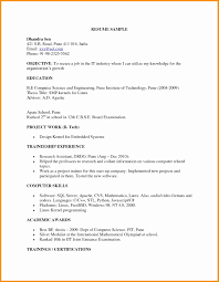 Format Of Resume For Fresher Engineers Pdf Beautiful Mechanical