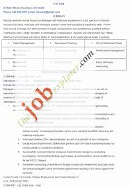 Sample Human Resources Resume Examples Of Human Resources Resumes Elegant Hr Objective For 65