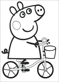Pepa Pig Coloring Pages Pig Pictures To Print And Color Peppa Pig