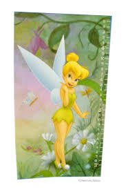 Disney Tinkerbell Wall Sticker Growth Height Chart Ih4nd108