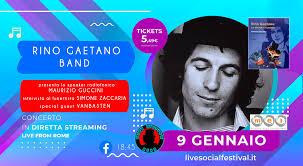 Rino Gaetano Band live in diretta streaming, il tributo ufficiale