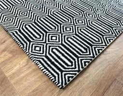 black and white geometric rug pattern colours harrietta