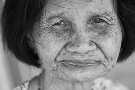 Image result for wrinkled old woman's face