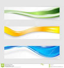 Flyer Header Flyer Template Header Design Stock Vector Illustration Of