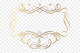 Circle Border Golden Clipart Gold Filigree Gold Circle Border Fancy