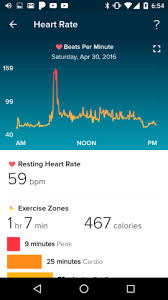Fitbit Resting Heart Rate Chart I Wore A Fitbit During Pregnancy And Childbirth Heres What