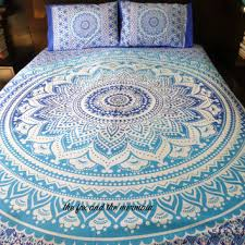 Best Boho Quilt Products on Wanelo & Ombre mandala quilt cover + 2 matching pillowcases, Boho duvet cover and  pillowcases, Roundie Adamdwight.com
