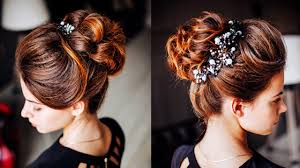 Dark Hair Style easy hairstyle messy bun with ponytale long lenght updo for 4235 by wearticles.com