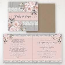 Delicate Mist Wedding Invitations Sarah Wants Stationery