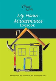My Home Maintenance Logbook Book By Tabea Berg Hardcover