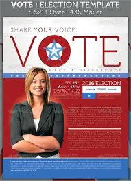Free Election Campaign Flyer Template Campaign Brochure Template Free Soothecd