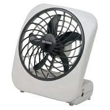 o2 cool personal fan 6 9 in h x 3 9 in w x 5 in dia 2 sd battery 5 blade white fd05004 fans ace hardware