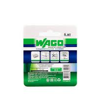 Клемма Wago 8 <b>разъемов</b> под <b>провода</b> 18х10.4х16.7 мм ...