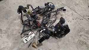 jeep wrangler yj speedometer tach dash bezel spice  jeep wrangler yj 92 95 under dash wiring harness fuse block radio plug not cut
