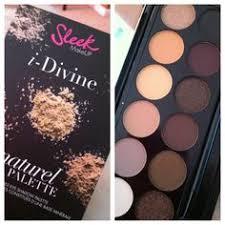 sleek makeup au naturel i divine palette