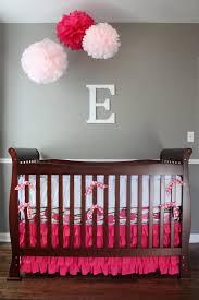 fl ottoman and a erfly mobile add dimension to the nursery girls wall decor nursery decor baby