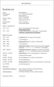 3 Klassischer _lebenslauf_maxi Muster_times New Roman Id 438