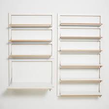 adjule shelf brackets wall mounted wire shelving ideas