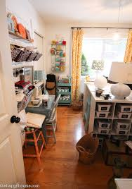 Living Room Organization How To Organize A Craft Room Work Space The Happy Housie