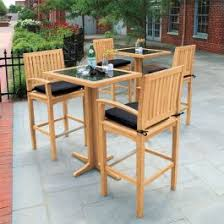 Foxhall bar table w/ granite top