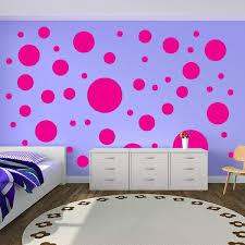 polka dot wall stickers circle wall
